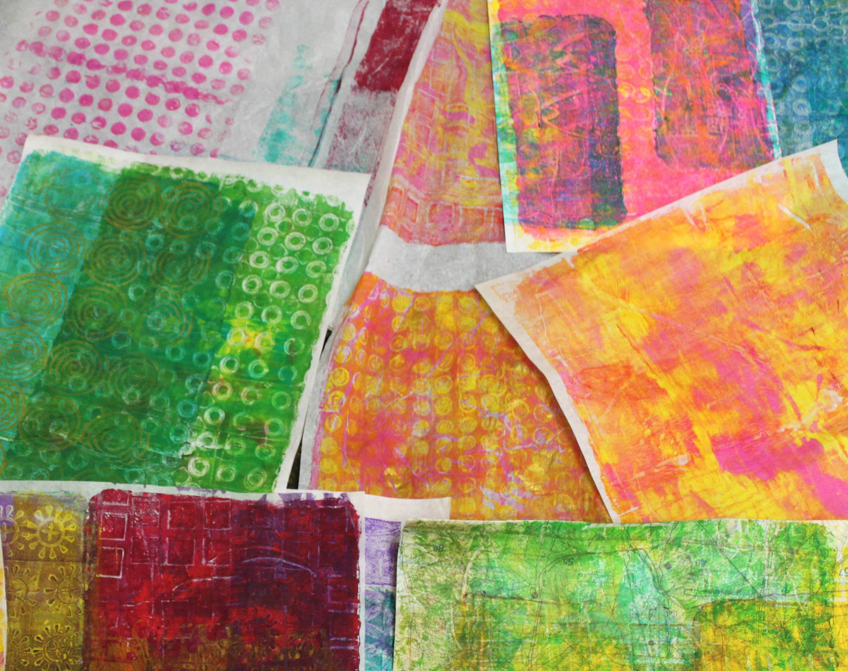 gelatin print papers