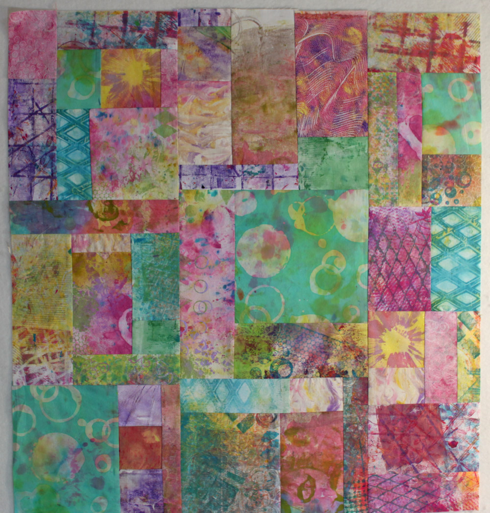 Delectable cloth quilt 1