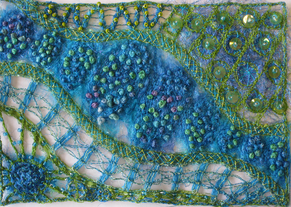 stitch dancing free form embroidery